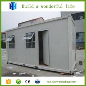 China portable prefabricated houses prebuilt flat roof container houses on sale