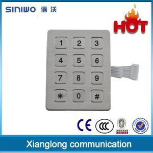 China high quality USB interface metal keypad metal kiosk keypay door lock keypad B20 on sale