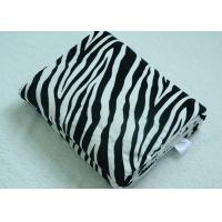 Zebra Stripe Comfort Blanket Adults , Sherpa Throw Blanket 220gsm
