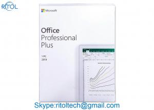China Online Activation Microsoft Office 2019 Professional Plus Key Card English Download on sale