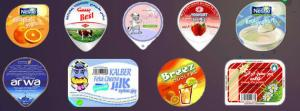 China Etiquetas de la botella del plástico de embalar del PVC, la mejor calidad on sale