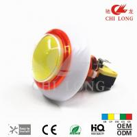 China Round Head Style 12v Illuminated Push Button Switch 33.5mm Hole Size on sale