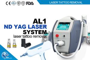 China 1064nm 532nm Q-Switched Nd Yag Laser Machine For Eye Birthmark Removal 500 w on sale