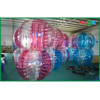 Sumo Bumper Ball Inflatable Sports Games , Giant Bubble Football Equipment For Adult