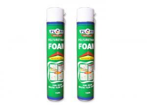 China Fire Retardant Waterproof Silicone Sealant High Density Polyurethane PU Foam Spray on sale