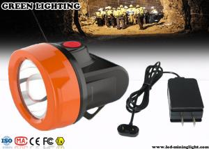 China 110Lum 0.85W Cordless Safety Rechargeable LED Headlamp for Underground Mine with USB Charger on sale