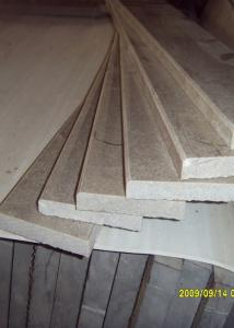 China Public Buildings Marble Stair Treads , Grey Color Outdoor Stone Stair Treads on sale
