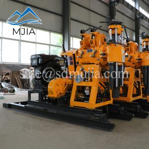 China HZ-130YY Hydraulic Rotary Water Well Drilling Rig Rock Sample Machine On Sale on sale
