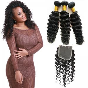 China Smooth No Tangle Virgin Brazilian Hair Extensions / Real Brazilian Remy Hair on sale