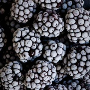 China IQF Blackberries whole fruit, dark or deep red, calibrated or uncalibrated on sale