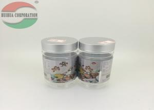 China Food Grade Wide-mouth Clear Plastic Cylinder For Chocolate / Plastic Tube Packaging on sale