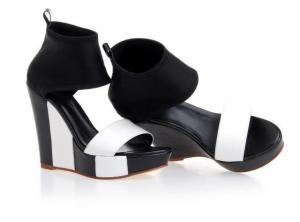 China wholesale fashion wedge sandals, vendita a ingrosso moda alto tallone del cuneo  sandali on sale