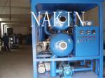Purificador de óleo do transformador do vácuo da Dobro-fase da série ZYD