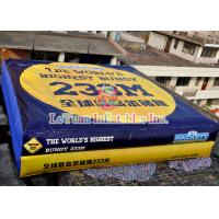 China Waterproof Inflatable Stunt Bag Games 10m Long For All Age Kids LY - SP14 on sale