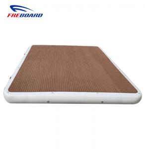 China Inflatable air pad water bed air track air platform maintenance yacht work raft! on sale