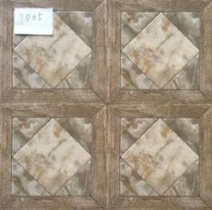 China Glazed Ceramic Tiles 300x300mm Multicolor Ink-jet printing Low Water Absorption Glazed Rustic Tiles on sale