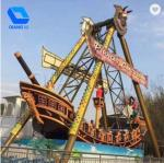 32 Seats Pirate Ship Ride Customization Available With Music / Colorful Lights