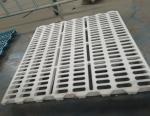 White Color Plastic Slat Flooring Plastic Goat Flooring Lightweight 60 X 60CM