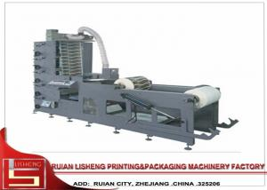 China 6 color Label Flexo Printing Machine with unwind and rewind , stack type on sale