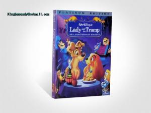 China 2018 Hot sell Lady and the Tramp disney dvd movies cartoon dvd movies kids movies with slip cover case drop shipping on sale