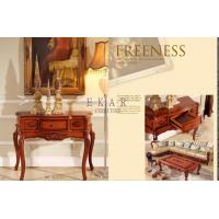 China Living Room Antique Carved Console Table With Drawer on sale