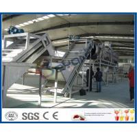 SUS304 / SUS316L Complete Apple Processing Line , Fruit Juice Equipment