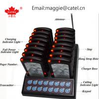 coaster pager / paging system for restaurant / calling system / waiter queue paging system