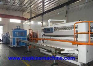 China Full Auto Box Drawing Facial Tissue Production Line With Paper Cutting Machine on sale