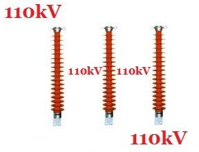 China 110 kV Electrical Line Post Insulator , Red Polymer Cross Arm Insulator on sale