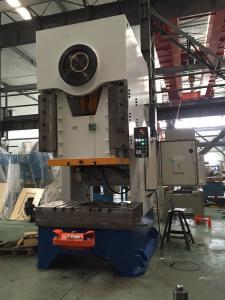China Cadre mécanique de la machine H de presse de sécurité de PLC JP250 de conte fixe électrique de C on sale