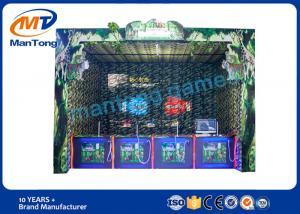 China 4人のための屋内射撃のゲーム・マシンの実質の経験の探求のゲーム on sale