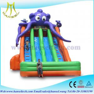 China Hansel Commercial inflatable slide for sale ,slide inflatable jumbo water slide on sale