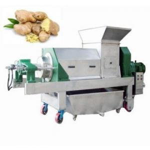 China Big Capacity Ginger Juicing Machine shipping fee private company management team on sale