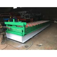 "Steel Sheet Roll Forming Equipment 10-15 Meters / Min 1""Chain Transmission"