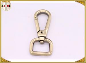 China High Polished Metal Swivel Dog Snap Hooks , Dog Leash Snap Hooks Accessories on sale