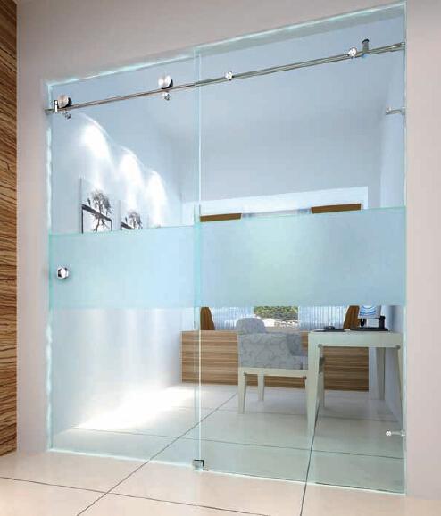 Frameless Glass Sliding Door For Study Roomshower Room Product