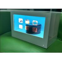 China 55 Inch Transparent Touch Display , USB / HDMI Input Transparent Lcd Display Case on sale