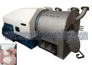 China IP54 / F1 Horizontal 45 Kw 10 Ton/h 2 Stage Pusher Salt Centrifuge Equipment PP-50 on sale