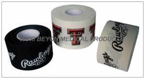 China Rigid Cotton Fabric Printed Athletic Tape on sale