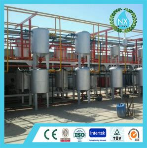 China Rubber pyrolysis and refine plant on sale