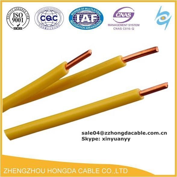 PVC/HR PVC / FRLS / ZHFR Insulated Pvc building 16mm electrical wire ...