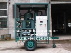 China Planta de filtro móvel do óleo do transformador | Equipamento móvel ZYD-M da filtragem do óleo do transformador on sale
