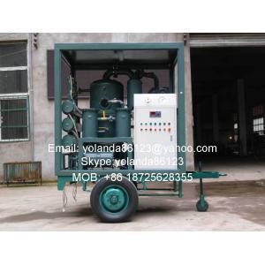 China Planta de filtrado móvil de aceite del transformador | Equipo móvil ZYD-M de la filtración del aceite del transformador on sale