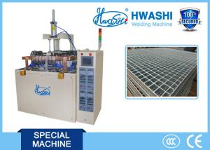 China Galvanized Steel Bar Grating Mesh Automatic Welding Machine CE / CCC on sale