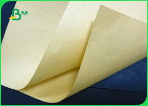 China Eco - Friendly Bamboo Pulp Brown Kraft Paper 70gsm 80gsm For Envelope wholesale