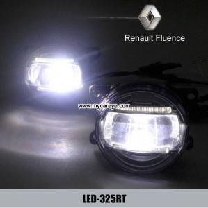 China Renault Fluence car front fog light advance auto parts DRL driving daylight on sale