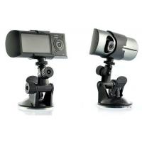 Dual Camera Car Blackbox DVR with GPS Logger X3000 car dvr