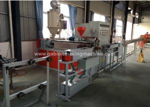 China Auto Control Fabric Coating Machine , PVC Coated Wire Weaving Machine on sale
