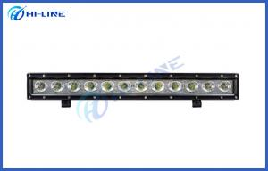 China 20 inch 60W Aluminum Offroad LED Light Bars Spot Flood Beam Angle for Tractor / Truck / SUV on sale
