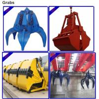 Top quality heligh service low price grab birdge/overhead crane